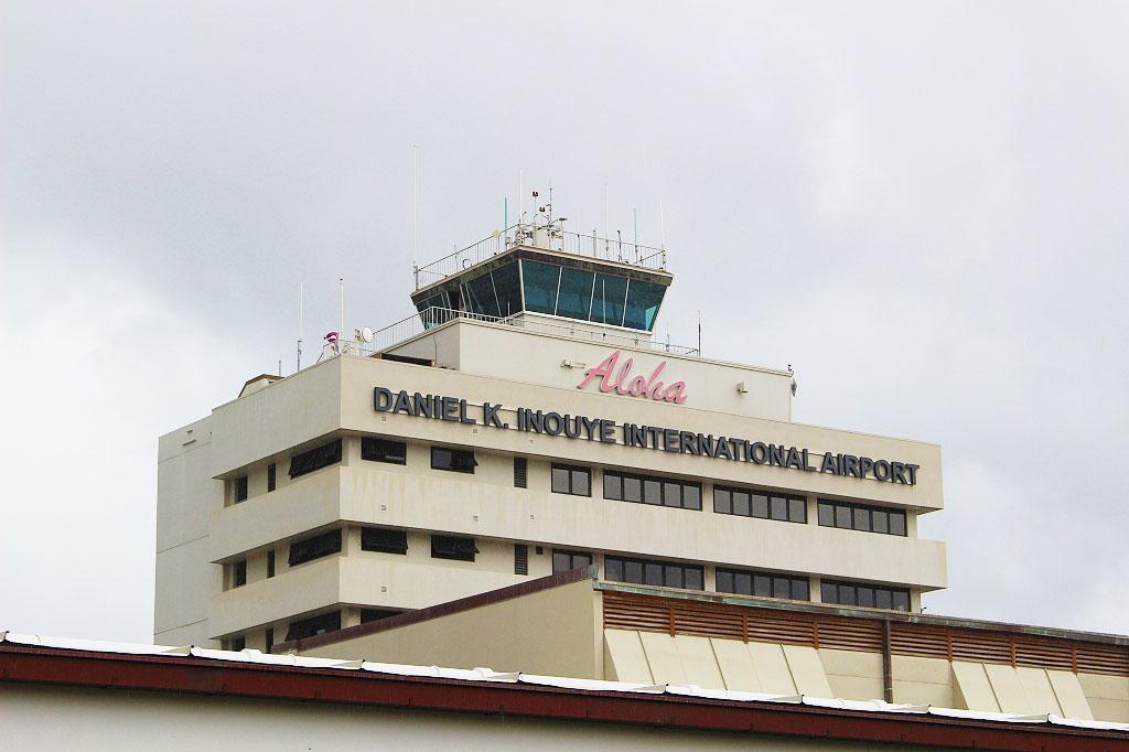 ダニエル k イノウエ 空港